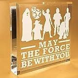 Star Wars Gifts For Women | Men | Girls | Christmas | Him | Boyfriend | Keepsake | Paperweight | Plate | Plaques