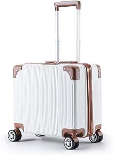 X & F XF Estuches de Viaje Maleta pequeña para Mujer, pequeña, Fresca, con Trolley, Caja de contraseña de embarque, 23.6 Pulgadas Bolsas y Estuches (Color : A)