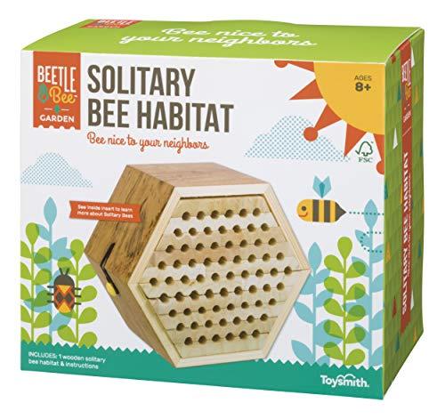 Toysmith Beetle & Bee Solitary Bee Habitat (2349)