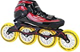 TEMPISH GT 500 110 Inline Skates Speed Unisexe/Rouge Taille 41 Noir