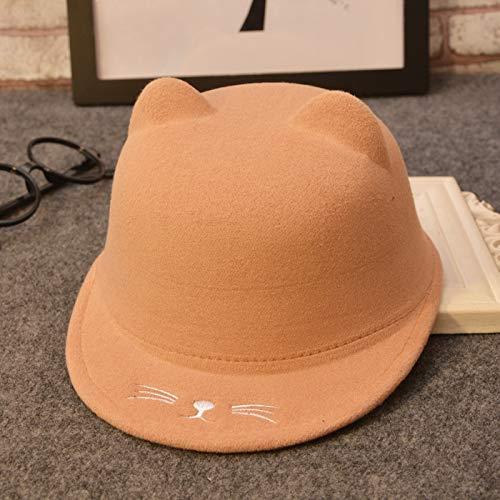 ChildHat - Golf-Kappen für Mädchen in Geeignet für den Kopfumfang von 51 bis 54 cm, Größe Gelb