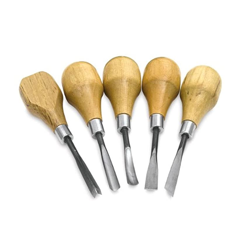 Sculpture House Wood and Linoleum Carving Tools K7 set of 5