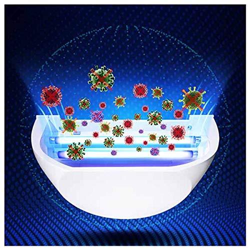 TANCEQI UV-Sterilisationslampe Desinfektionslampe Fernbedienung Wandmontage Sterilisator Luftreiniger Zur Sterilisation Lampe Hängen Kindergarten Oder Küche Kein Ozon 16W