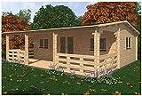 Mondocasette casa caseta de Madera de jardín–Modelo Alma Grosor...