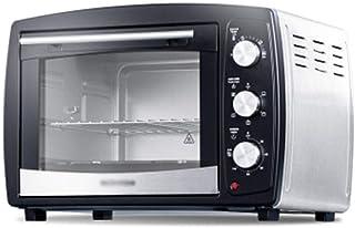 LYQ Horno Multifuncional Horneado en el hogar Multifunción Automático Pan de Pastel de Gran Capacidad Horno eléctrico Aire Caliente con iluminación Hornos de Cocina para