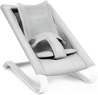 Bombol - Baby Bouncer - European Design - Aluminum Alloy - 5 Point Harness (Pebble Grey)