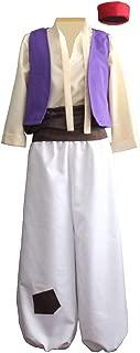 Mens Arabian Prince Costume Aladdin Street Rat Suits