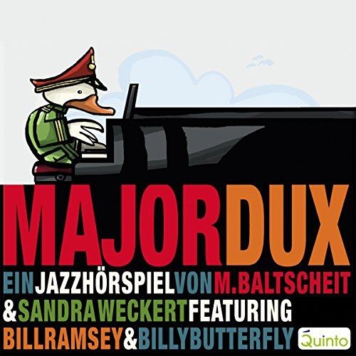 Major Dux. Ein Jazz-Hörspiel Titelbild