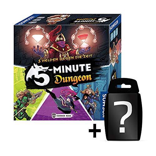Blackfire 5-Minute Dungeon - Grundspiel - Brettspiel   DEUTSCH   Set inkl. Kartenspiel
