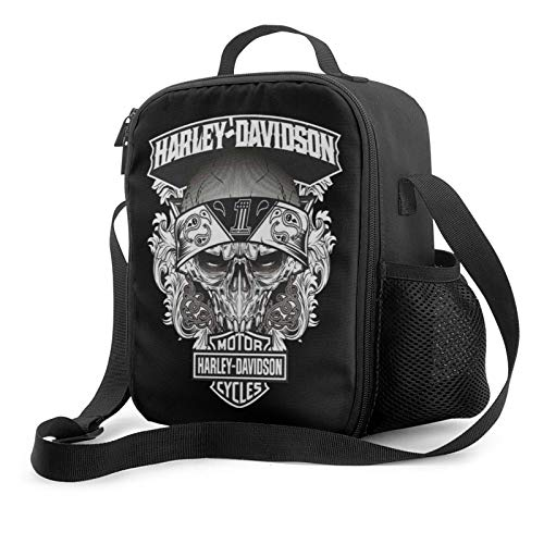 motorcycles are made in the usa insulated lunch wide open lunch tote bag with adjustable shoulder strap reusable cooler warm lunchbox handbag