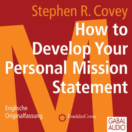 How to Develop Your Personal Mission Statement cover art