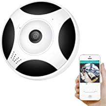 Zenly 360 Degree Panoramic WiFi Camera HD 1080P 960P Wireless WiFi IP Camera Home Security Surveillance System Camera P2P...