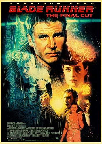 Simayi Klassisches Filmplakat Blade Runner 2049 Gedrucktes Poster Wandkunstplakatbilder Auf Leinwand Drucken Dekoration 50X70Cm Ig-2395