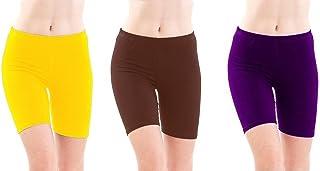Rooliums Women'S Brown Shorts(Rooliumsshort3-114_Brown_Free Size)