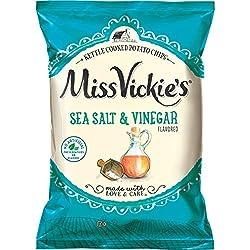 Miss Vickie's Salt & Vinegar, 8 Ounce