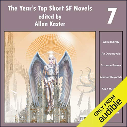 The Year's Top Short SF Novels 7 audiobook cover art