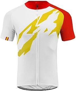 Uglyfrog 2019 Bike Wear -Conjunto Maillot Bicicleta Hombre Verano Ropa Carretera Corta MTB Traje+Peto Corto Transpirable de Ciclismo, con Badana, Bib Shorts+ Ciclismo Equipos ESHDZ01