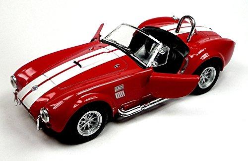 Modellauto 1965 Shelby Cobra 427 S/C rot 1:32