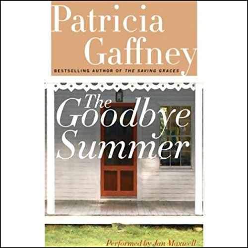 The Goodbye Summer audiobook cover art