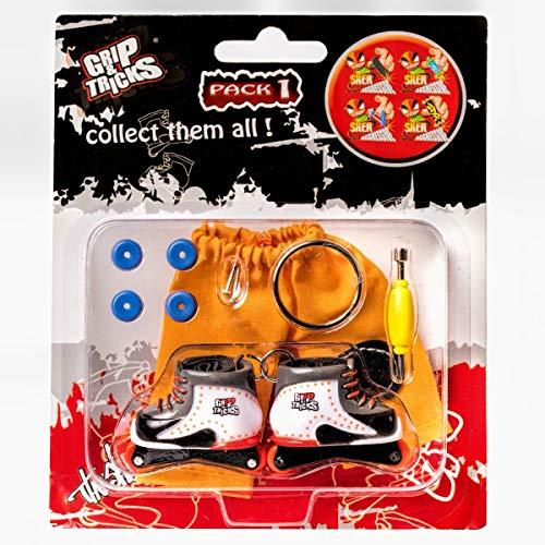 Grip & Tricks - Finger Roller - Mini Roller Freestyle Pack1 - Mini Inline Skate Freestyle