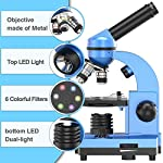 EMARTH Science Microscope for Kids Beginners Children Student, 40X- 1000X Compound Microscopes with 52 pcs Educational Science Kits