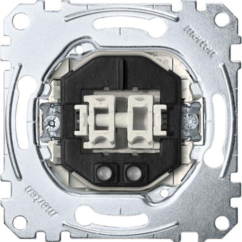 Merten MEG3105-0000 Serien-Kontrollschalter-Einsatz, 1-polig, 10 AX, AC 250 V, Steckklemmen