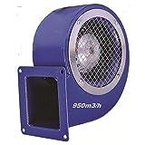 Uzman-Versand SG160E Industrie Radial ventilateur, Radial Ventilateurs centrifuge Fan métal d'aspiration extracteurs Aspiration extracteur Moteur 230v 230 Volt