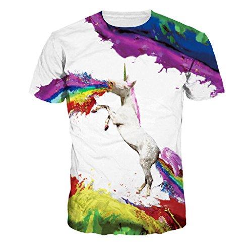 Unicornio vomita arco iris
