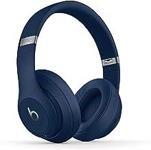 BeatsStudio3Wireless con cancelación de ruido - Auriculares supraaurales  - Chip Apple W1, Bluetooth de Clase1, cancelación activa del ruido, 22horas de sonido ininterrumpido - Azul