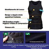 Zoom IMG-1 chumian maglietta compressione uomo canottiera