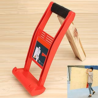 Espeedy Elevador de herramientas,Panel Carrier Gripper Handle Carry Drywall Plywood Sheet ABS 80KG Herramienta de carga