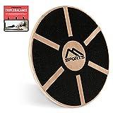 MSPORTS Balance Board aus Holz 39 cm Durchmesser...