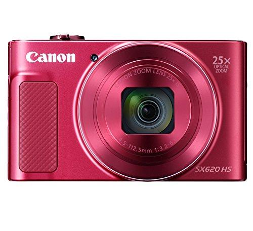 Canon コンパクトデジタルカメラ PowerShot SX620 HS レッド 光学25倍ズーム/Wi-Fi対応 PSSX620HSRE