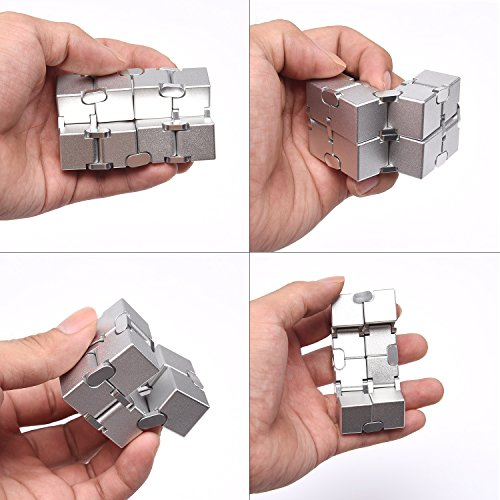 JOEYANK Fidget Cube New Version Fidget Finger Toys - Infinity Cube Prime for Stress and Anxiety Relief/ADHD, Ultra Durable
