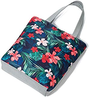 Bag For Unisex,Multi Color - Canvas & Beach Tote Bags