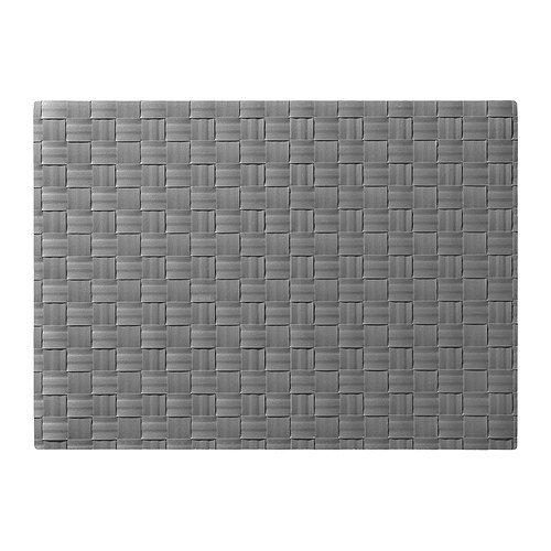 IKEA ORDENTLIG–Tischset, grau–45x 32cm
