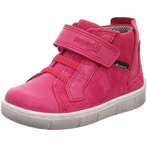 Superfit Baby Mädchen ULLI Sneaker, Rot (Rosa 55), 24 EU