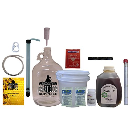 HomeBrewStuff One Gallon Nano-Meadery Premium Mead Kit