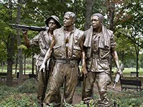 Posterazzi Poster Print Collection Vietnam Memorial Soldiers by Frederick Hart Washington D.C Carol Highsmith, (18 x 24), Multicolored