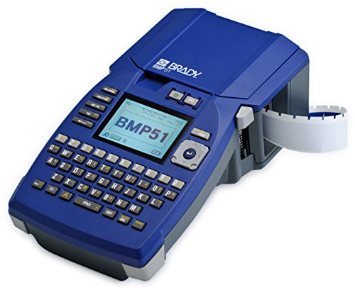 Brady - 139814 BMP51 - Printer with Rechargeable Li-Ion Battery Pack and AC Adaptor/Battery Charger