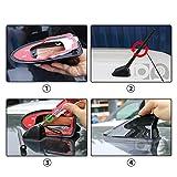 SBCX Haifischantenne Auto Signal Antennen Haifischflosse Antenne, für Renault Koleos Clio Megane Duster Sandero Captur Twingo