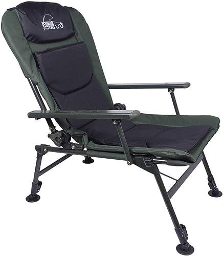 YYZDY12 Chaise de pêche portative Chaise Pliante de pêche pour Adultes avec accoudoir Ultra léger Multi-Fonctions (Taille   F)