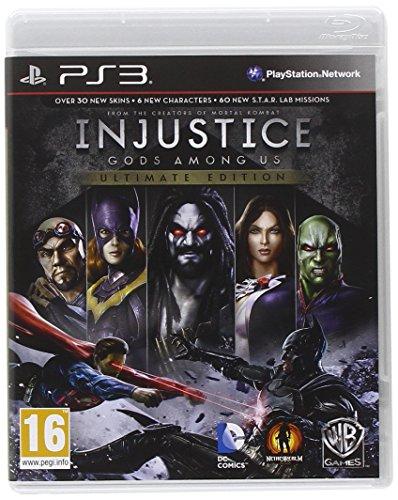 Warner Bros Injustice: Gods Among Us Ultimate Edition PlayStation 3 Inglés vídeo - Juego (PlayStation 3, Lucha, Modo multijugador, T (Teen), Soporte físico)
