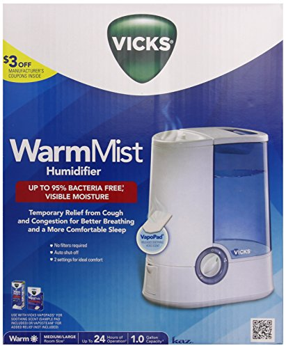 Product Image of the Vicks Warm Mist Humidifier