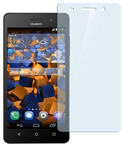 mumbi Hart Glas Folie kompatibel mit Huawei G Play Mini / 4C Panzerfolie, Schutzfolie Schutzglas(1x)