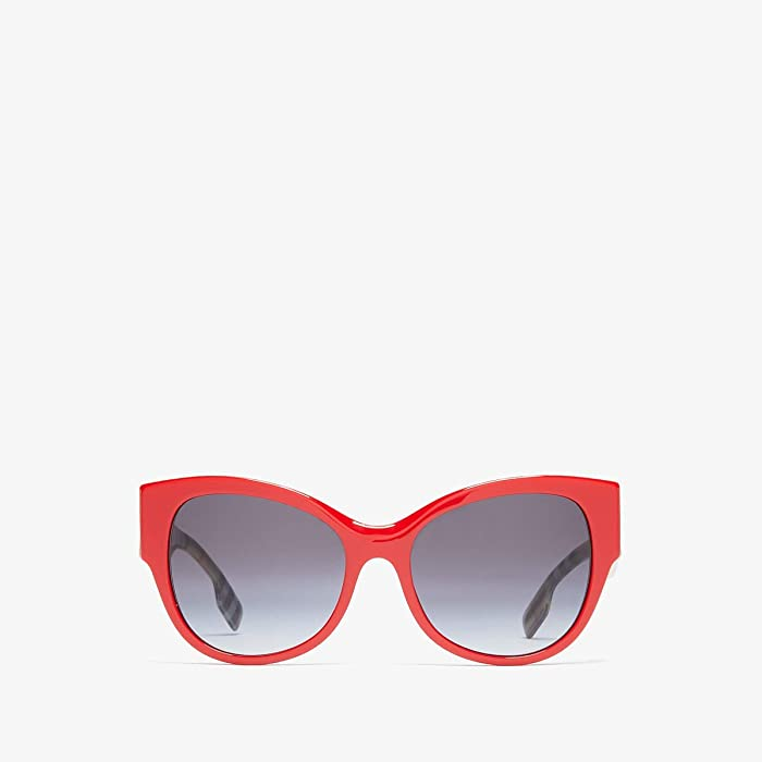 Burberry  0BE4294 (Red/Grey Gradient) Fashion Sunglasses
