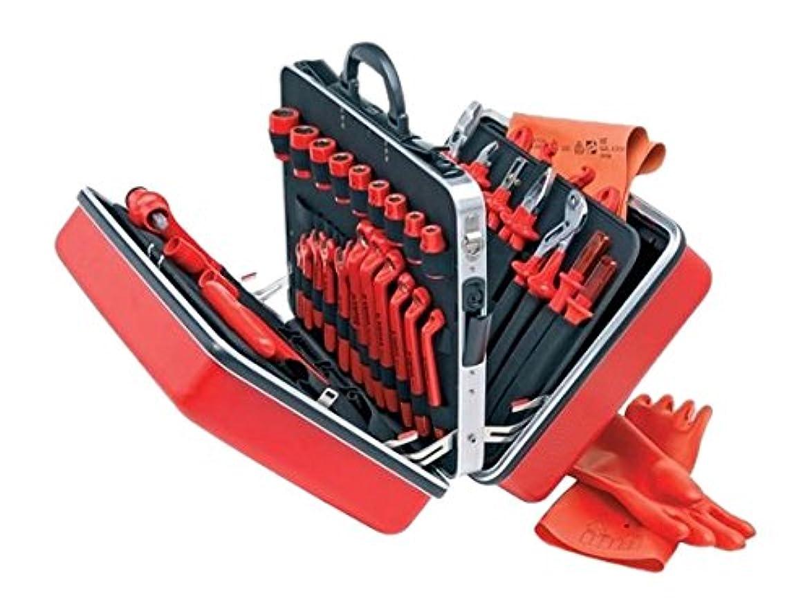 聴く少なくとも小道KNIPEX(クニペックス)  絶縁工具セット 48点セット 989914