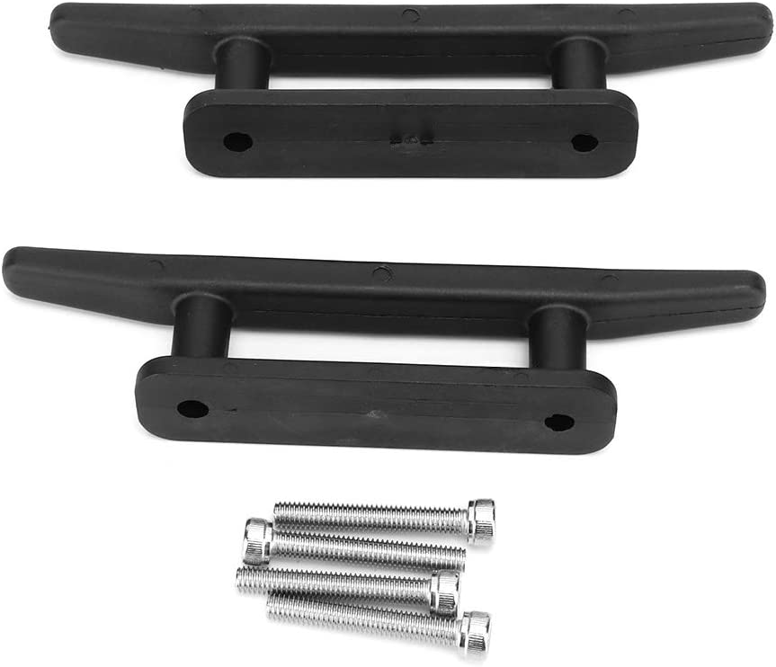 Viccilley 6.5 inch Black Anchor Special sale item Cleat with Screws Kit Open Nylon Beauty products