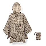 reisenthel mini maxi poncho 141 x 93 x 0 cm diamonds rouge