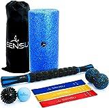 Sensu 9-in-1 Foam Roller Set – Muscle...